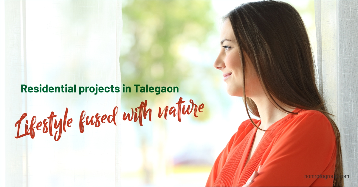 home in Talegaon means Lifestyle fused with nature
