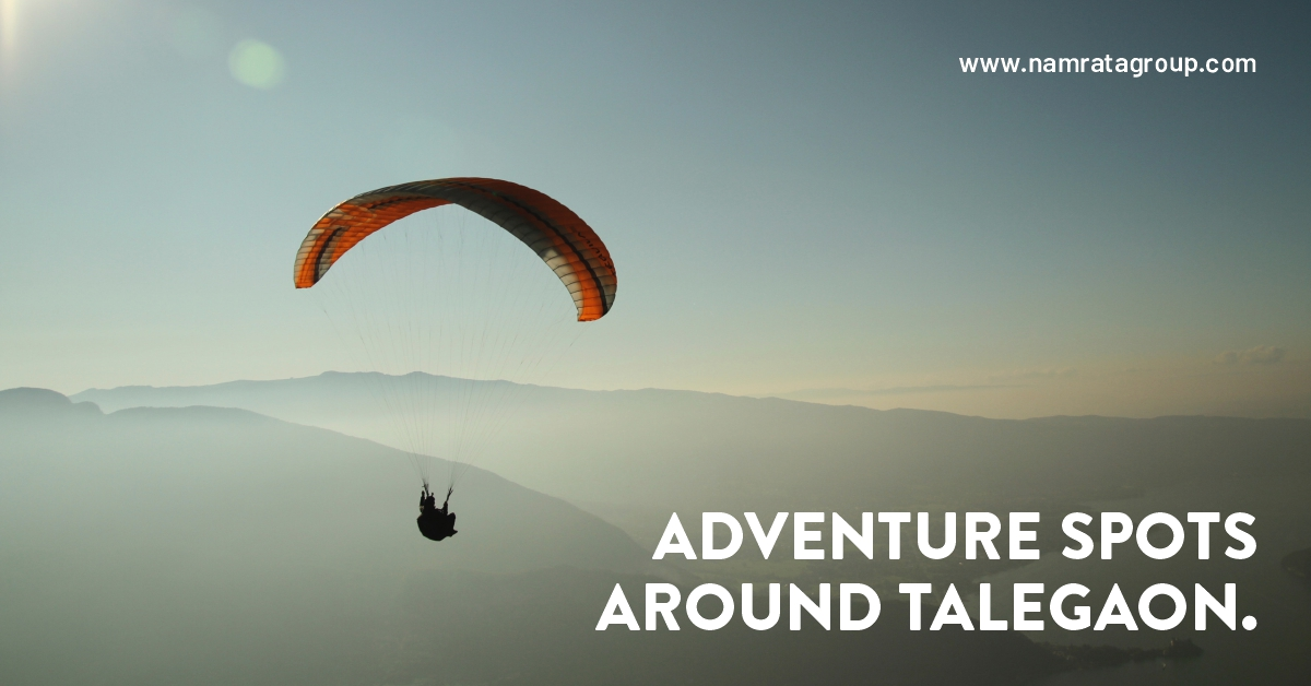 Here are some adventure spots around Talegaon.