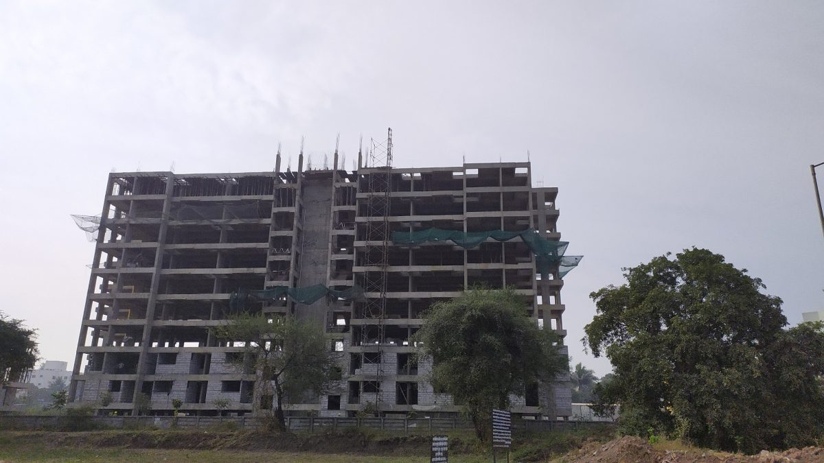 Happycity Talegaon Jijamata Chowk Construction Updates December 2019