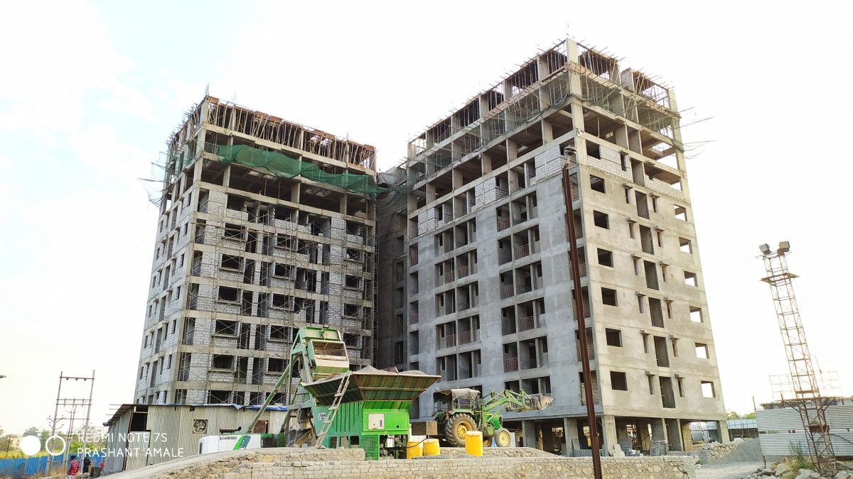 Happycity Talegaon Varale Construction Updates March 2020