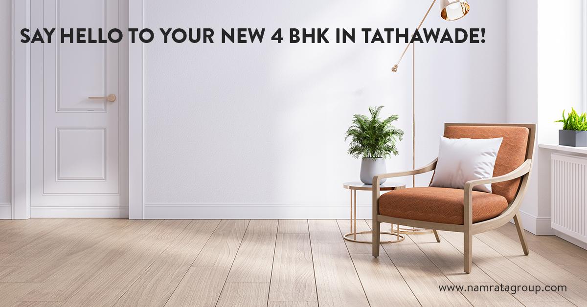 4 BHK in Tathawade